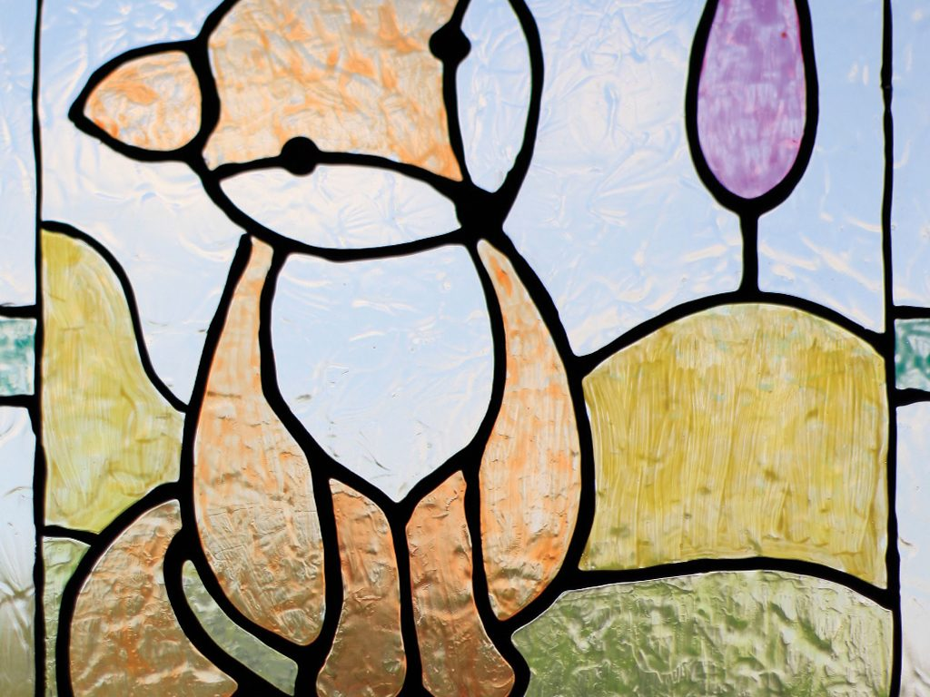 How To Mimic Stained Glass In Painting